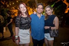 Patrícia Neves, Roberto Fontenele e Ana Cristina Lima