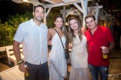 Rafael Teofilo, Talita Travessoni, Gisele Lima e Paulo Lima