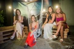 Raquel Sales, Maria Clara Boris, Mariana Veloso e Catarina Holanda