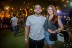 Rodrigo Portela e Flavia Meireles