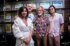 Luana Aguiar, Dickson Medeiros, Alberto Pinho e César Oliveira