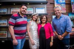 Paulo Bragança, Maiara Capistrano, Adriana Araújo e Alberto Augusto