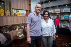 Ronaldo Barbosa e Anete Mendonça