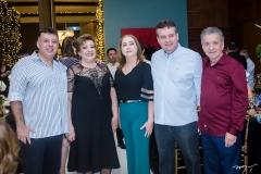Alexandre, Vera Félix, Cristiana, Flávio Alves e Majela Félix
