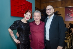 Ana Clara, Majela Félix e Artur Carleial