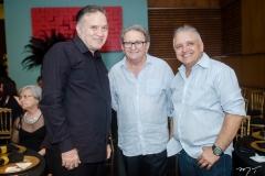 Claudio Ferreira, Pedro Militão e Angelo Roncalli