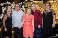 Gorete Félix, Pedro Militão, Lúcia Félix, Majela e Vera Félix
