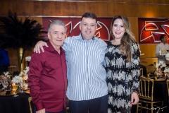 Majela, Alexandre Félix e Giselle Sotero