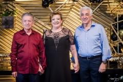 Majela, Vera Félix e Luis Manuel Gadelha