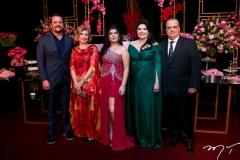 Adrísio, Zelma, Marcelle, Sellene e Max Câmara