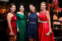 Alexia Gurgel, Sellene Câmara, Natalia e Marjorie Marshall