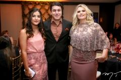 Amanda Meira, Valderzei  e Ana Wanderley