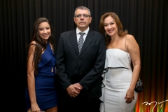 Ana, Luiz Augusto e Cristina Sobral