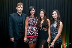 Andre Mourão, Márcia e Luiza Carvalho e Sofia Leal