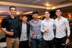 Antônio Bastos, Carlos Rosado, Iam Lira, João Nogueira e Pedro Neves