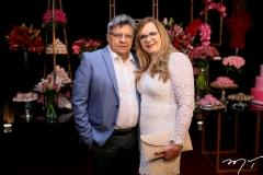 Carlos Efrem e Cléa Lustosa