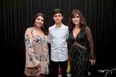 Celina Castro Alves, Arthur e Cláudia Fiuza