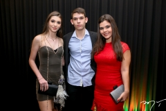 Leticia, Thiago e Mayana Corrêa