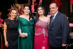 Lilian Porto, Sellene, Marcelle e Max Câmara