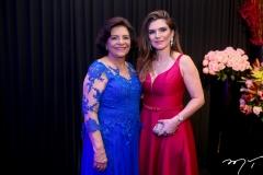 Lúcia Benevides e Fabiana Lustosa