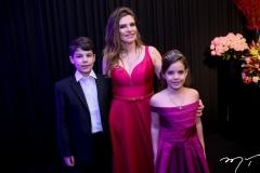 Luis Eduardo Corete, Fabiana Lustosa e Gabriele Corete