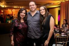 Martinha, George e Paula Assunção