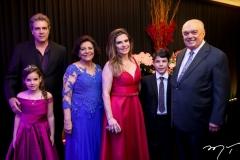 Roberto Corete, Gabriela Corete, Lúcia Benevides, Fabiana Lustosa, Luis Eduardo Corete e José Benevides