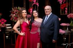 Fabiana Lustosa, Marcelle Câmara e José Benevides