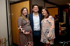 Vanessa, Eduardo Câmara e Celina Castro Alves