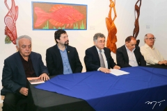 Flávio Leitão, Francisco Edmar Pereira Neto, Marcelo Gurgel, Djacir Figueiredo e Lúcio Alcântara