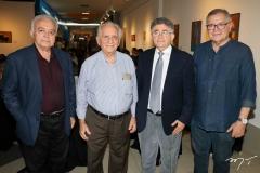 Flávio Leitão, Neudson Braga, Marcelo Gurgel e Sulivan Mota