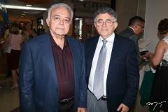 Flávio Leitão e Marcelo Gurgel