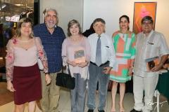 Marilu Barros Leal, Gil Farias, Ângela Barros Leal, Marcelo Gurgel, Camila Lucas e Fernando Barros Leal