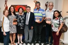 Teresinha de Castro, Elsa Cavalcante, Angelita Castro, Marcelo Gurgel, Silvio Gurgel Demerval Pedrosa e Mirna Gurgel