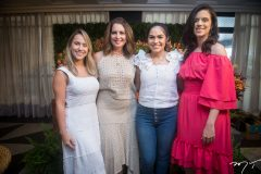 Ana Paula Andrade, Márcia Andréa, Roberta Portela e Mariana Moreira