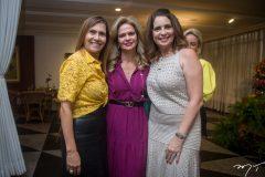 Debora Moreira, Germana Vanderley e Márcia Andréa