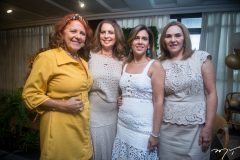 Fátima Duarte, Márcia Andréa, Mirian e Denise Bastos