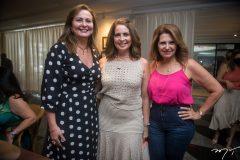 Fátima Santana, Márcia Andréa e Carla Melo