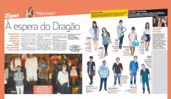 Print da coluna Zíper publicada no caderno Zoeira, do Diario do Nordeste