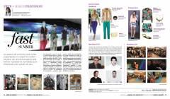 Print da coluna Zíper publicada na revista Siará, do Diário do Nordeste