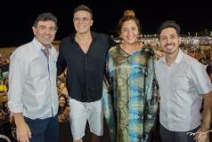 Alexandre Pereira, Marcos Lessa, Nara Hope e Felipe Adjafre