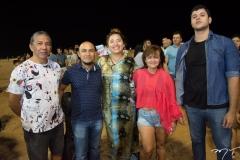 Giseldo Castro, Pedro Victor, Nara Hope, Jacqueline Brito e Ulisses Nogueira