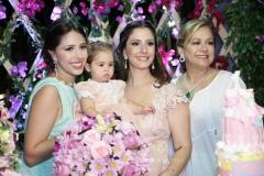 Carolina Philomeno, Maria Paula e Sarah Rolim e Sarah Philomeno