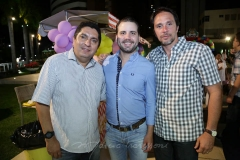 Faris Andrade, Daniel Marcan e Caetano Rodrigues