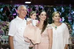 Jose Gerardo Pontes, Maria Paula e Sarinha Rolim e Sarah Philomeno