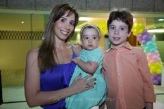 Juliana , Beatriz e Matheus Araujo