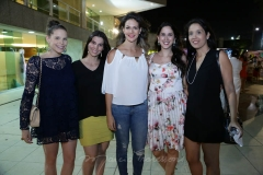 Natalia Pontes, Iane Carneiro, Carol Gurgel, Márcia Fiúza  e Renata Câmara
