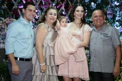 Paulo Eduardo, Alexandra, Maria Paula , Sarah e Paulo Rolim