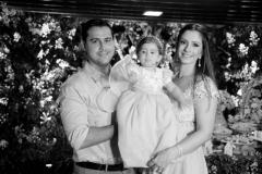 Paulo Eduardo, Maria Paula e Sarah Rolim