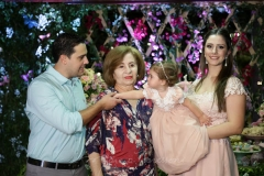 Paulo Eduardo, Telma Moreira, Maria Paula e Sarah Rolim